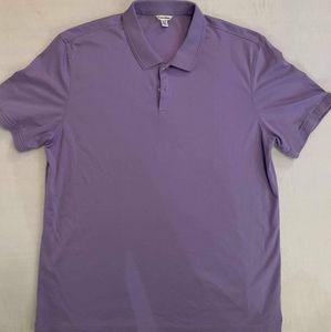 Calvin Klein Purple Mens Polo Size XL